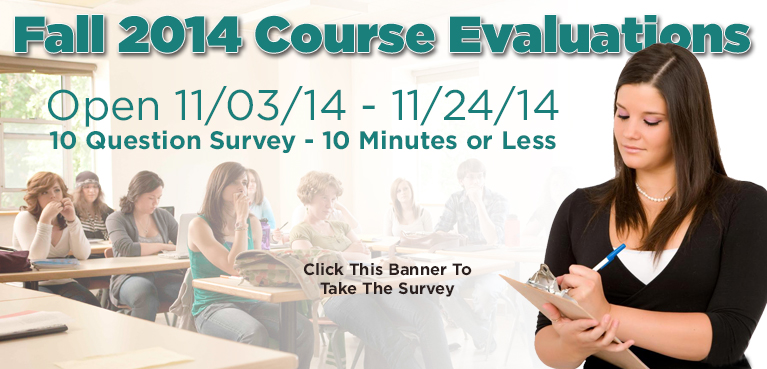 Fall 2014 Course Evaluations