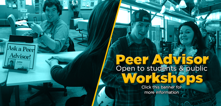 Peer Advisor Workshops