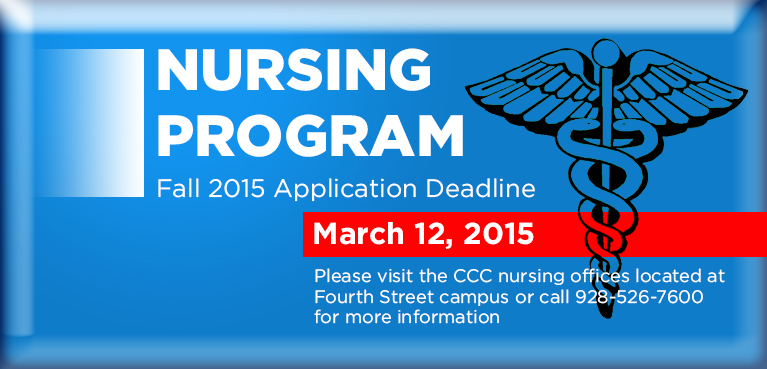 CCC Nursing Deadline