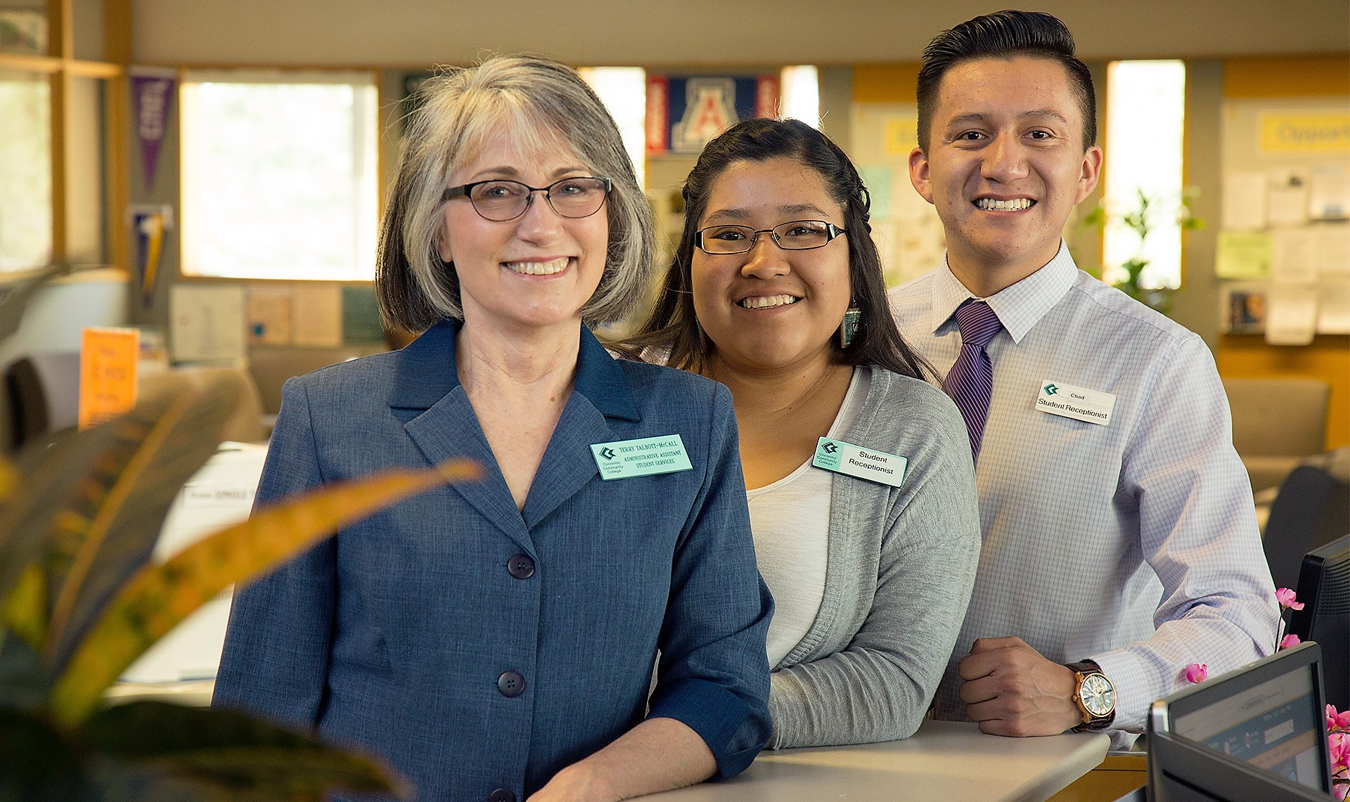 Student Development Reception Staff