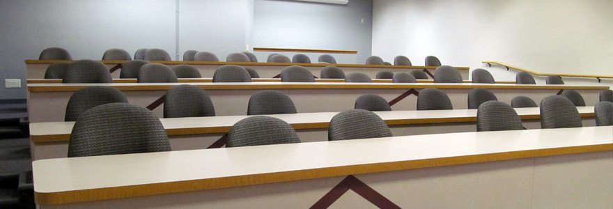 Classroom Fourth Street B34 Lecture Hall Example