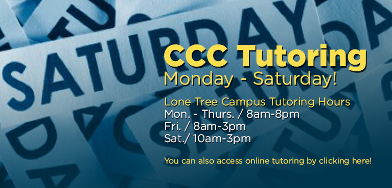 CCC Tutoring Services